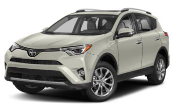2018 Toyota RAV4 - Blizzard Pearl