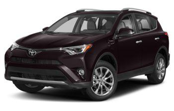 2018 Toyota RAV4 - Black Currant Metallic