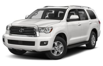 2020 Toyota Sequoia - Super White