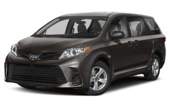 2020 Toyota Sienna - Pre-Dawn Grey Mica