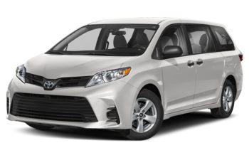 2020 Toyota Sienna - Super White