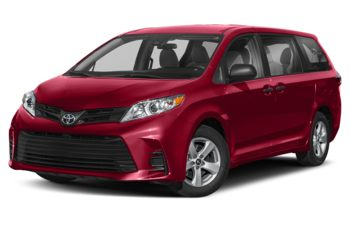2018 Toyota Sienna - Salsa Red Pearl