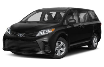 2019 Toyota Sienna - Midnight Black Metallic