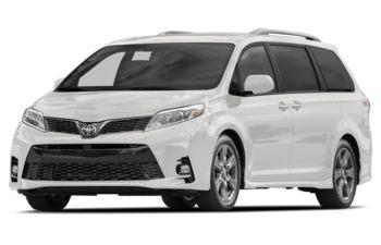 2018 Toyota Sienna - Alpine White