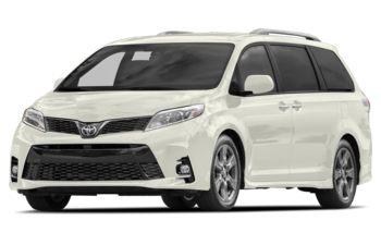 2018 Toyota Sienna - Blizzard Pearl
