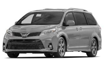 2018 Toyota Sienna - Silver Sky Metallic