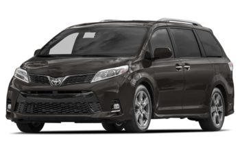 2018 Toyota Sienna - Pre-Dawn Grey Mica