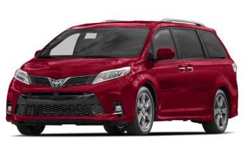 2018 Toyota Sienna - Salsa Red Pearl