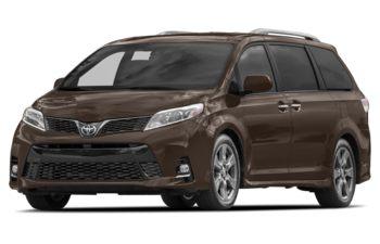 2018 Toyota Sienna - Toasted Walnut Pearl