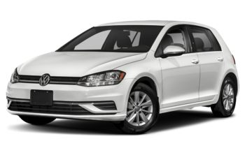 2021 Volkswagen Golf - Pure White