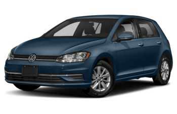 2019 Volkswagen Golf - Silk Blue Metallic