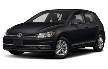2021 Volkswagen Golf - Deep Black Pearl