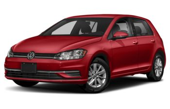 2020 Volkswagen Golf - Tornado Red