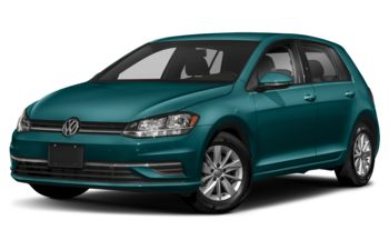 2020 Volkswagen Golf - Peacock Green Metallic