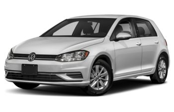2019 Volkswagen Golf - White Silver Metallic