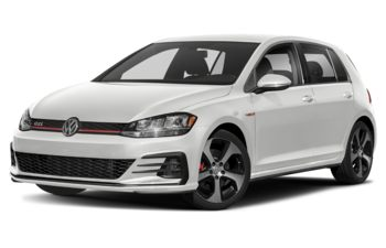 2019 Volkswagen Golf GTI - Pure White