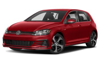 2020 Volkswagen Golf GTI - Tornado Red