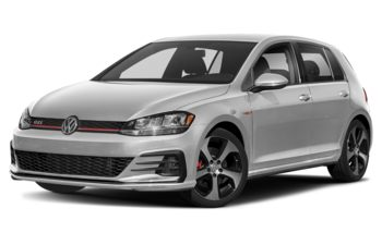 2019 Volkswagen Golf GTI - White Silver Metallic