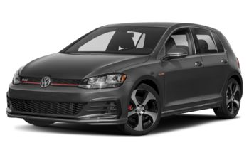 2018 Volkswagen Golf GTI - White Silver Metallic