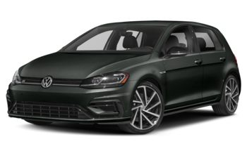 2019 Volkswagen Golf R - Deep Black Pearl