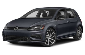 2019 Volkswagen Golf R - Prussian Blue Metallic
