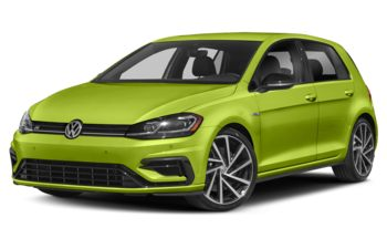 2019 Volkswagen Golf R - Viper Green Metallic