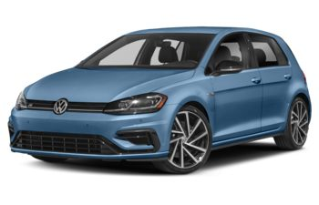 2019 Volkswagen Golf R - Techno Blue Pearl