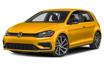 2019 Volkswagen Golf R - Ginster Yellow