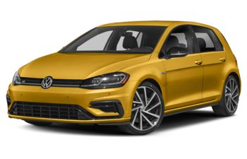2019 Volkswagen Golf R - Curry Yellow