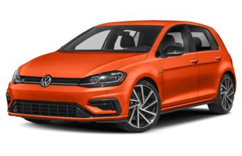 2019 Volkswagen Golf R - TNT Orange