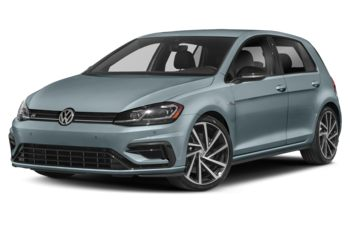 2019 Volkswagen Golf R - Ice Blue