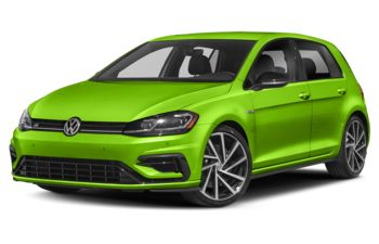 2019 Volkswagen Golf R - Cliff Green