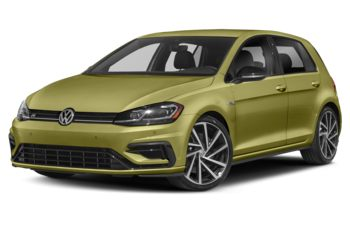 2019 Volkswagen Golf R - Reseda Green