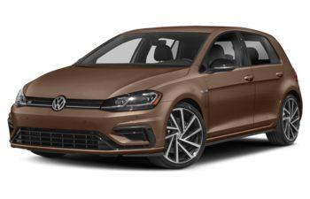 2018 Volkswagen Golf R - Terra Brown