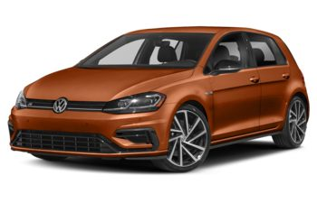 2019 Volkswagen Golf R - Copper Orange Metallic