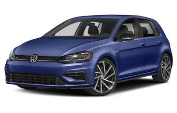 2019 Volkswagen Golf R - Deep Blue Pearl