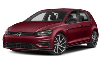 2019 Volkswagen Golf R - Hot Chili Pearl