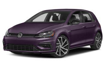 2019 Volkswagen Golf R - Dark Violet Pearl