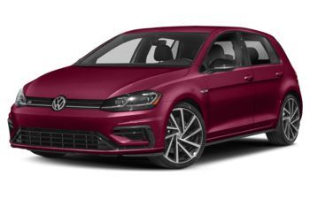 2019 Volkswagen Golf R - Oxide Red