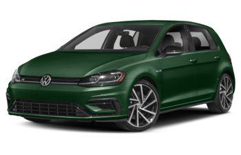 2019 Volkswagen Golf R - Caribbean Green