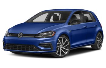 2019 Volkswagen Golf R - Mystic Blue Pearl