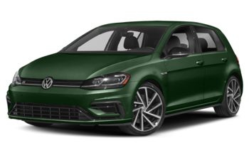 2019 Volkswagen Golf R - Moss Green Metallic
