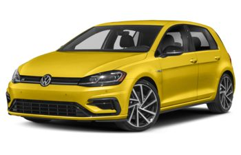 2019 Volkswagen Golf R - Kurkuma Yellow Metallic