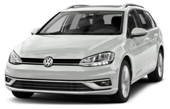 2018 Volkswagen Golf SportWagen - Pure White