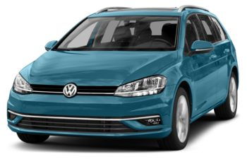 2018 Volkswagen Golf SportWagen - Silk Blue Metallic