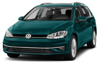 2018 Volkswagen Golf SportWagen - Peacock Green Metallic