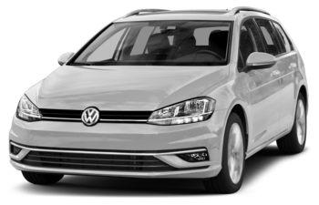 2018 Volkswagen Golf SportWagen - White Silver Metallic