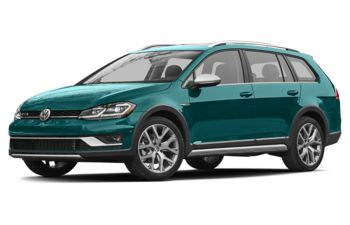 2018 Volkswagen Golf Alltrack - Peacock Green Metallic