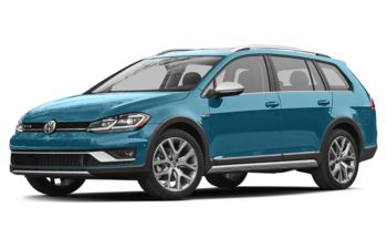 2018 Volkswagen Golf Alltrack - Silk Blue Metallic