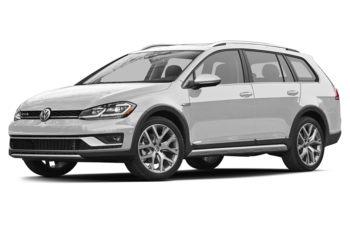 2018 Volkswagen Golf Alltrack - White Silver Metallic